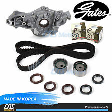Gates Timing Belt Kit Genuine Oil Pump for Sonata Optima Tiburon Tucson Sportage