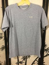 Under Armour Boys Youth Large Heat Gear Gray Shirt Athletic Fit