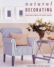 NEW Natural Decorating by Elizabeth Wilhide Hardcover Book (English) Free Shippi