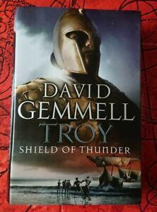 Troy: Shield Of Thunder: The Shield of Thunder No.2 By David Gemmell Hardback