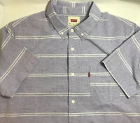 Levi's Boucher Yarn-Dye Sheeting Shirt Aster  Mens Size M Aster Purple NWT