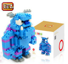 NEW LOZ MONSTERS INC SULLEY MINI BUILDING BLOCK NANO 220PC 9+ PUZZLE