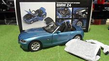 BMW Z4 cabriolet convertible au 1/18 KYOSHO 08581BL voiture miniature collection