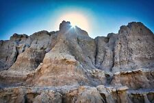 Sunrise in the Badlands S.D.  Photo Art Wall Decor, Family Room, Den, Kitchen