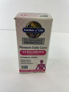 Garden of Life Women's Probiotics Daily Care  40 Billion CFU 30 Capsules