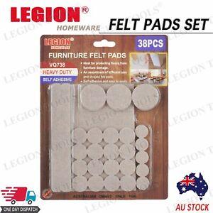 38pcs Felt Pad Set Furniture Floor Protector Pads Set Self Adhesive DIY
