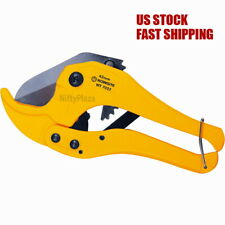 Heavy Duty PVC Pipe Cutter with Metal Handle (42mm) Cutting plastic vinyl rubber