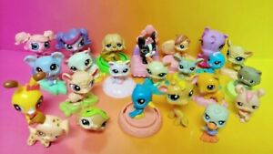 Littlest Pet Shop McDonald's Happy Meal Toys Lot Set of 20 Dogs Cats Animal LPS#