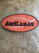 Vtg Air Kaman Embroidered Patch Corporation Charles Aerospace Helicopter