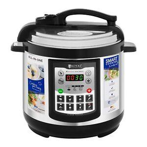 Schnellkochtopf Multikocher 11 In 1 Reiskocher Dampfkocher Elektrisch 4L 8L