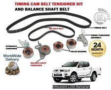 Per Mitsubishi L200 BARBARIAN 2.5 DID 2006 - > Timing Cam Belt + Balance Albero Kit