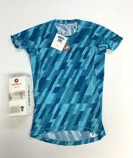 Castelli Pro Mesh Short Sleeve Size Men's Medium Blue Base Layer New
