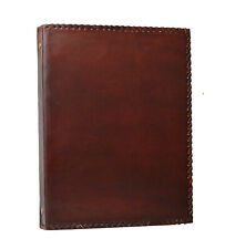 Indian Classic Files Folder 4 Rings A4 Genuine Leather Handmade India No Design