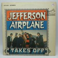 Vintage Jefferson Airplane Takes Off Album Vinyl LP LSP 3584