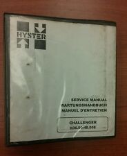Hyster Challenger Forklift Service Manual H36.00- 48E