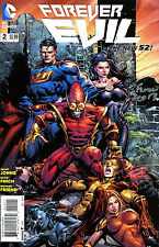Forever Evil #2 The New 52! Signed By Artist David Finch