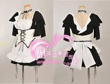 Kaichou wa Maid-sama! Maid Sama Misaki Ayuzawa Cosplay Costume Housemaid Dress