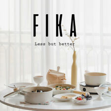 NEOFLAM FIKA IH Induction Ceramic Saucepan & Pot Dishwasher Safe No PFOA Wihte