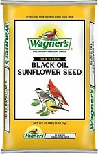 New listing Wagner's 76027 Black Oil Sunflower Seed Wild Bird Food, 25-Pound Bag - new