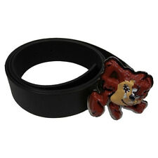 Official Looney Tunes Taz Devil Belt with Enamel Buckle - Distressed Cartoon