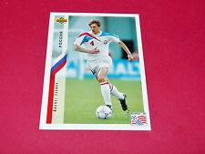 ANDREI IVANOV RUSSIE FIFA WC FOOTBALL CARD UPPER USA 94 PANINI 1994 WM94