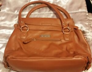 La Dee Da Woman's shoulder Bag ☆Medium size ☆New☆Brown Leather look☆