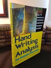 """Handwriting Analysis"" Complete Basic Book Like New 1980 Illustrated Karen Amend"