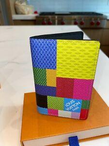 2021 Authentic Louis Vuitton Multicolor 3D Pocket Organizer (Extremely Rare)