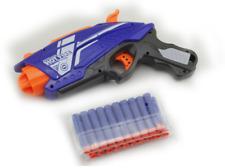 Nerf Style Dart Toy Gun Rapid Fire Blaster Pistol Soft Bullet Darts Kid Kids