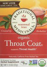 Traditional Medicinals Organic Throat Coat Tea Bags, 16 Count