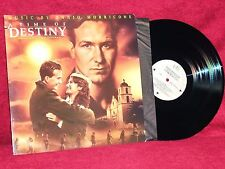 OST LP A TIME OF DESTINY ENNIO MORRICONE 1988 VIRGIN MOVIE MUSIC  NM PROMO