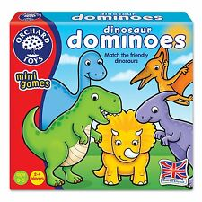 "Orchard Toys 353 ""Match The Friendly Dinosaur"" Dominoes Game"