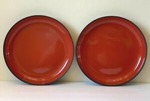 """Revol France for Maveko Germany Ceramic Gloss Finish Pepper Red 10 3/4"""" Bowls"""