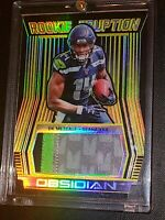2019 Panini Obsidian DK Metcalf Seattle Seahawks SP Rookie Eruption Relic#2/10