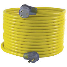 Conntek 14368-50 NEMA TT-30 30 Amp Generator / RV Extension Cord, 50ft. Yellow