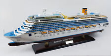 Costa Fortuna Cruise Ship Model Scale 1:350 - Handmade Wooden Ship Model NEW