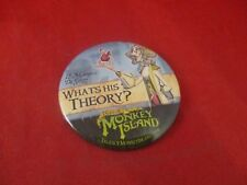 Tales of Monkey Island Le Marquis Employee Promotional Button Pin Promo Pinback