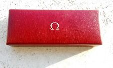 Omega Box vintage scatola 60s 70s oversize Seamaster Speedmaster De Ville Geneve
