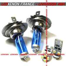 KIT 2 AMPOULE HALOGENE XENON H4 + 2 LED W5W SMD PEUGEOT 306 PHARE SIMPLE OPTIQUE