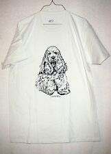 American Cocker Spaniel Coming&Going S/S T-shirt / Adult Unisex Sizes