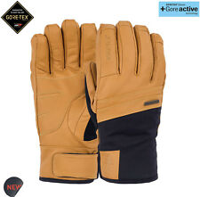 POW ROYAL GTX Gore-Tex Snowboarding Skiing Gloves Real Leather Mens Extra Large