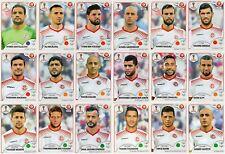 Sticker PANINI FIFA WORLD CUP RUSSIA 2018 - TUNISIA - Choose Sticker