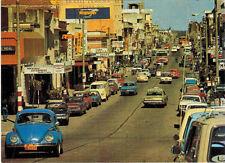 Postcard with street scene in RIVERA, URUGUAY