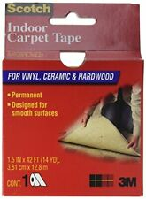 3M CT2010 Double Sided Heavy-Duty Indoor Carpet Tape, 38.1 mm W x 1.8 m L