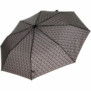 DKNY Black & Grey Logo Umbrella Brand New Designer Umbrella Ladies Girls Present