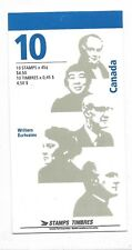 Canada Scott 1626b (BK 195b) Booklet  (open cover) Canadian Authors MNH F-VF