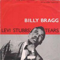 """Billy Bragg – Levi Stubbs' Tears (Go! Discs, GOD 12) [7"""" Vinyl]"""