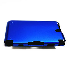 Blue Aluminum Metal Protective Hard Case Cover for Nintendo 3DS LL / 3DS XL