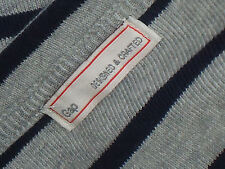 GAP 100%CottonStripedHenleyDress SizeS *SAMPLE*