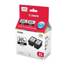 Canon PG-245XL Ink Cartridge - Twin Pack - Black